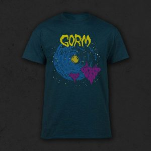 Gorm Album Shirt - Midnight Heather